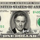 ROBERT DENIRO on REAL Dollar Bill Spendable Cash Celebrity Money Mint De Niro