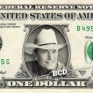 GEORGE STRAIT on REAL Dollar Bill Spendable Cash Celebrity Money Mint