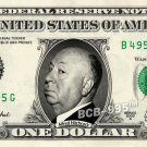 ALFRED HITCHCOCK on REAL Dollar Bill - Celebrity Collectible Custom Cash