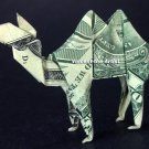 Money Origami CAMEL - Dollar Bill Art - Made with $1.00 Cash