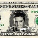 ELVIS PRESLEY on a REAL Dollar Bill Cash Money Collectible Memorabilia Celebrity