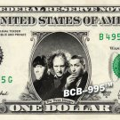 THE THREE STOOGES REAL Dollar Bill Cash Money Collectible Memorabilia Celebrity
