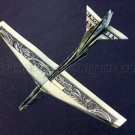 Money Origami B-52 STRATOFORTRESS Jet Fighter Airplane - Made with $1.00 Cash