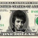 BOB DYLAN on REAL Dollar Bill Cash Money Collectible Memorabilia Celebrity Bank