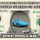 THE KING - Cars on REAL Dollar Bill - Collectible Celebrity Cash Money Art
