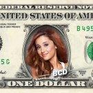 ARIANA GRANDE - Real Dollar Bill Cash Money Collectible Memorabilia Celebrity