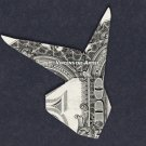 Money Origami PLAYBOY BUNNY - Dollar Bill Art - Made with Real $1.00 Cash