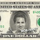 DON JOHNSON on REAL Dollar Bill - Collectible Celebrity Cash Money Art
