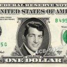 DEAN MARTIN on a REAL Dollar Bill Cash Money Collectible Memorabilia Celebrity