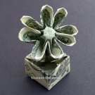 Money Origami FLOWER in a POT - Dollar Bill Art - Made with Real $1.00 Cash