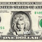 MADONNA on REAL Dollar Bill - Collectible Celebrity Cash Money Art