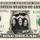 OZZY OSBOURNE on REAL Dollar Bill - Collectible Celebrity Cash Money Art