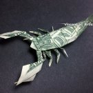 Money Origami Realistic SCORPION - Dollar Bill Art - Made with real $1.00 Cash