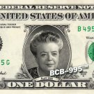 AUNT BEE on REAL Dollar Bill - Celebrity Collectible Custom Cash