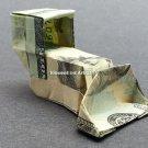 $20 bill Money Origami BULLDOZER - Dollar Bill Art - Made with $20.00 Bill Cash