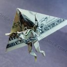 Money Origami HANG GLIDER - Dollar Bill Art - Made w/ Real $1.00 Cash Hanglider