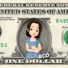 JADE - Sofia the 1st on REAL Dollar Bill - Collectible Celebrity Cash Money Art