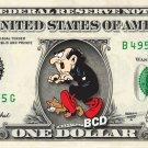GARGAMEL - The Smurfs on REAL Dollar Bill - Collectible Celebrity Cash Money Art