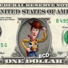 Disney's TOY STORY 7-set REAL Dollar Bill Collection - Money Cash Gift