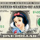 Disney Princesses 9-set Collection on REAL DOLLAR BILL Money Cash Princess Mint