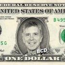 TOM BERGERON on REAL Dollar Bill Spendable Cash Celebrity Money Mint