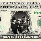 BON JOVI on REAL Dollar Bill - Collectible Celebrity Custom Cash Money Art