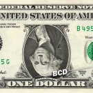 Upside Down George Washington on a REAL Dollar Bill Cash Money Collectible Bank