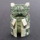 Money Origami TEDDY BEAR - Dollar Bill Art - Made with Real $1.00 Cash