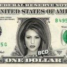 ALYSSA MILANO on REAL Dollar Bill Spendable Cash Celebrity Money Mint