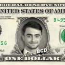 DANIEL RADCLIFFE on REAL Dollar Bill - Collectible Cash Collectible Celebrity