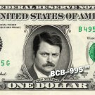 NICK OFFERMAN on REAL Dollar Bill -  Collectible Celebrity Cash Gift Money