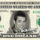 JIM CARREY on Real Dollar Bill - $1 Celebrity Collectible Custom Cash Money