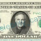 ALAN ALDA - MASH - on REAL Dollar Bill - Cash Money Bank Note Currency Dinero