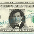 TIMOTHY DALTON on REAL Dollar Bill Cash Money Bank Note Currency Dinero