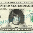 ZAC EFRON on REAL Dollar Bill - Cash Money Bank Note Currency Dinero Celebrity