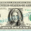 ANDREA PARKER on REAL Dollar Bill Cash Money Bank Note Currency Dinero Celebrity