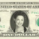 ASHLEY JUDD on REAL Dollar Bill Cash Money Bank Note Currency Dinero Celebrity