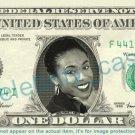 JADA PINKETT SMITH on REAL Dollar Bill Cash Money Bank Note Currency Dinero Celebrity