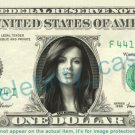 KATE BECKINSALE on REAL Dollar Bill Cash Money Bank Note Currency Dinero Celebrity