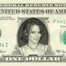 WINONA RYDER on REAL Dollar Bill Cash Money Bank Note Currency Dinero Celebrity