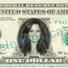 BROOKE BURKE CHARVET on REAL Dollar Bill Cash Money Bank Note Currency Dinero