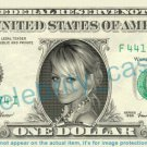 NICOLE RICHIE on REAL Dollar Bill Cash Money Bank Note Currency Dinero Celebrity