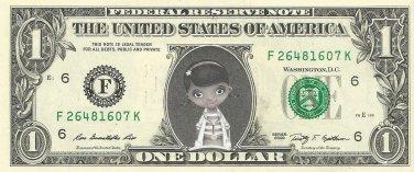 Disney Jr's DOC MCSTUFFINS on REAL Dollar Bill Cash Money Bank Note Currency