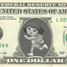 Disney's DORA THE EXPLORER on REAL Dollar Bill Cash Money Bank Note Currency