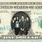 EXTREME Music Band on REAL Dollar Bill Cash Money Bank Note Currency Dinero