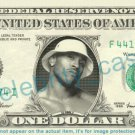 LL COOL J on REAL Dollar Bill Cash Money Bank Note Currency Dinero Celebrity