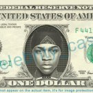 BUSTA RHYMES on REAL Dollar Bill Cash Money Bank Note Currency Dinero Celebrity
