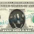 POD Music Band on REAL Dollar Bill Cash Money Bank Note Currency Dinero