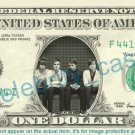PANIC AT THE DISCO on REAL Dollar Bill Cash Money Bank Note Currency Dinero