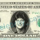 JOHNNY RODRIGUEZ Singer on REAL Dollar Bill Cash Money Bank Note Currency Dinero